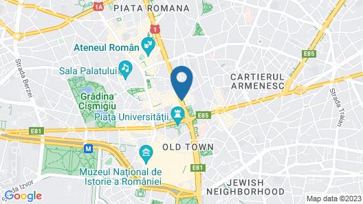 InterContinental Bucharest, an IHG Hotel Map