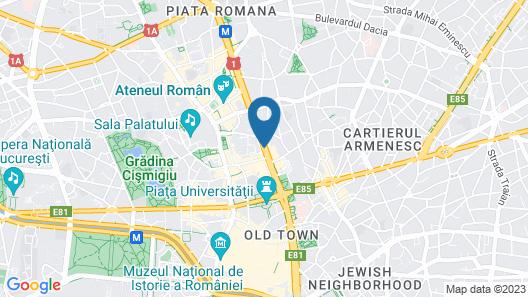 Bucharest Serviced Apartments Map