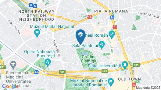 Cismigiu Studio Apartments Map