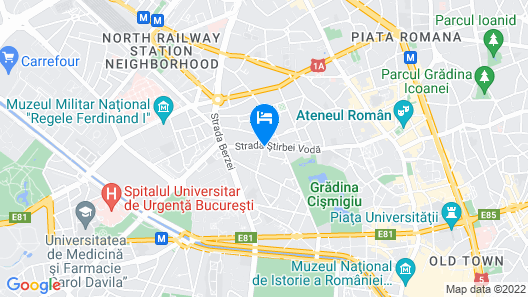 Faryna Apartment Map