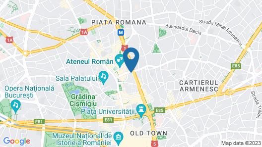 Central Class Bucharest Map