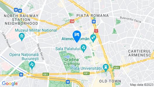 Park Inn by Radisson Bucharest Hotel & Residence Map