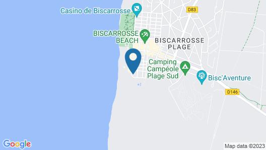 Appartement 4-5p Front de mer Avec Piscine et Parking Dans Résidence Sécurisée Map