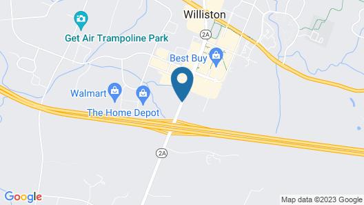 Fairfield Inn by Marriott Burlington Williston Map