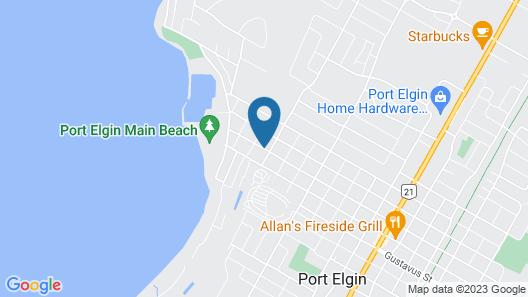 Windspire Inn Map