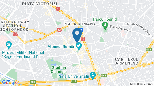 Mercure Bucharest City Center Map