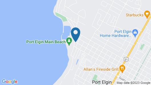 Paradise Inn On The Beach Map
