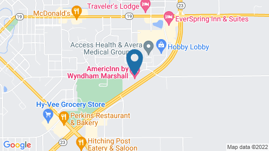 AmericInn by Wyndham Marshall Map