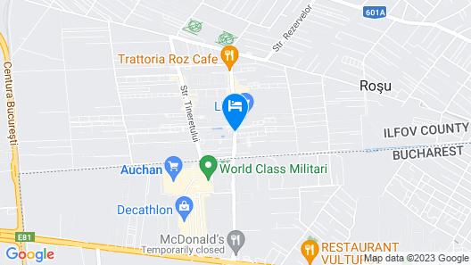 Studio Militari Residence M6 Map