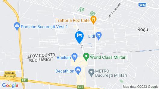 Studio Militari Residence M4 Map