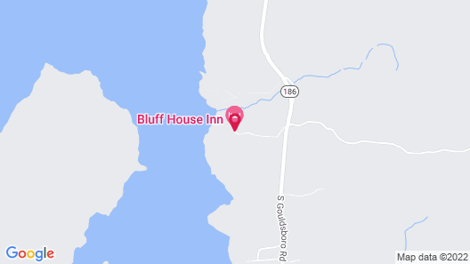 Bluff House Inn Map