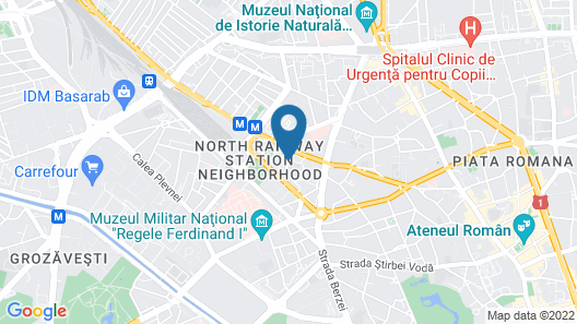 Hello Hotels Gara de Nord Map