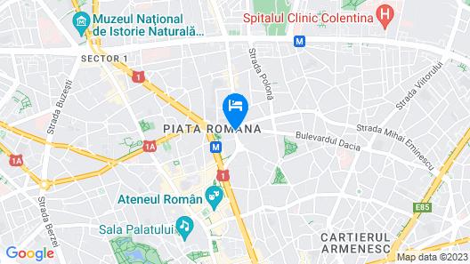 Sheraton Bucharest Hotel Map
