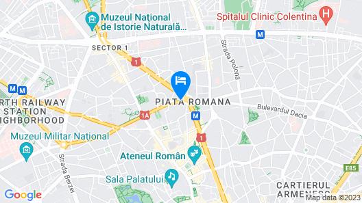 Hotel Duke Romana Map