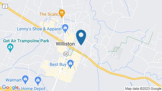 Home2 Suites Williston Burlington, VT Map