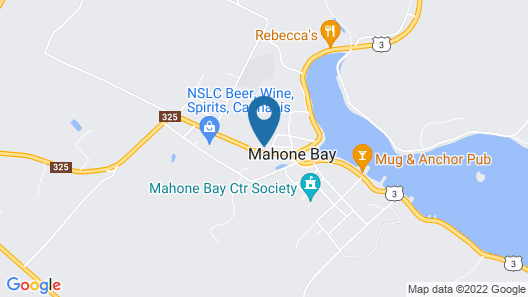 Red Mahone Bed & Breakfast Map