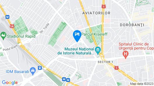 Hotel Irisa Map