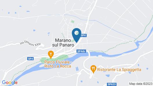 Mery Bistrot in Villa Bisbini Map