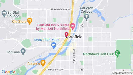 Country Inn & Suites by Radisson, Northfield, MN Map
