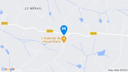 Gîtes et Ecurie du Cheval Blanc Map