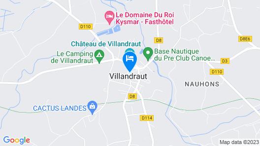 Auberge La Crémaillère Map