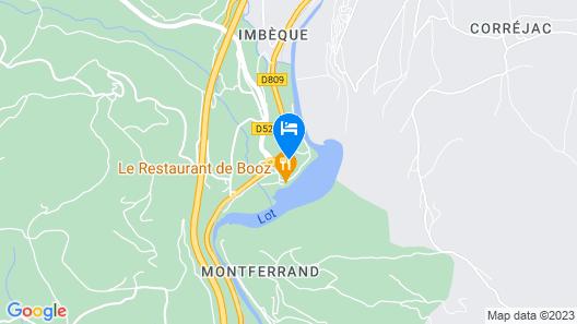 Village de Gites de Booz Map