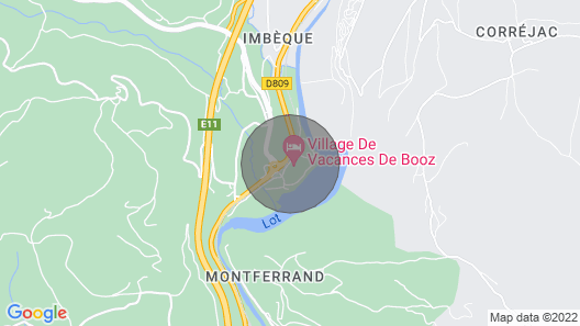 Chalet 4-6 Pers à Booz - Lzv019b1 Map
