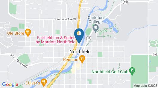 Fairfield Inn and Suites by Marriott Northfield Map