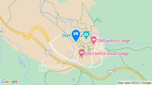 Old Faithful Lodge & Cabins Map
