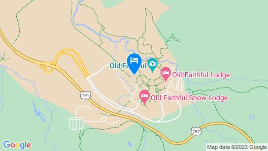 Old Faithful Inn - Inside the Park Map