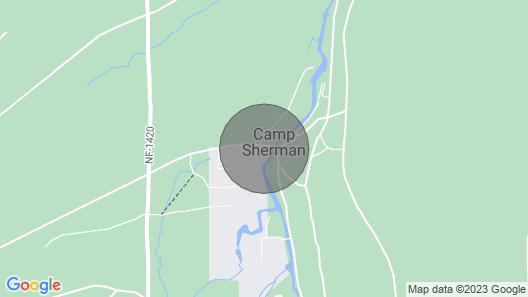 Metolius River Resort Cabin 4 Map
