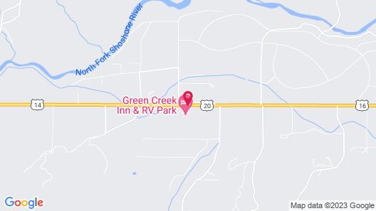 Green Creek Inn and RV Park Map
