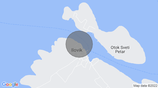 Apartment Azur - 10 m From Sea: A1 - Ilovik , Island Losinj, Croatia Map