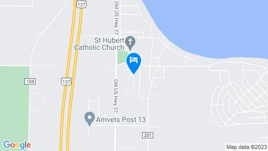 Higgins Lake Mi Cottage Map