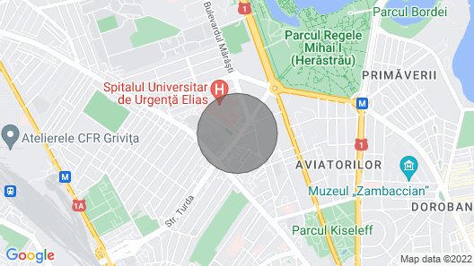 3 Bedroom Apartment Averescu-Herestrau Park Map