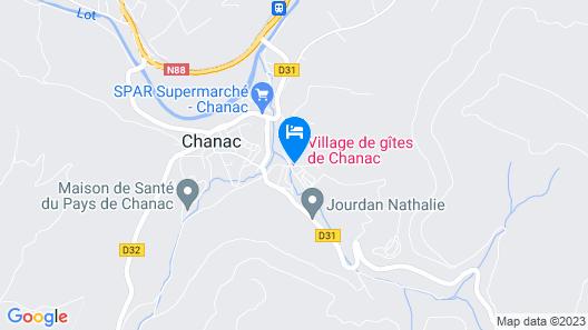 Village de gîtes de Chanac Map