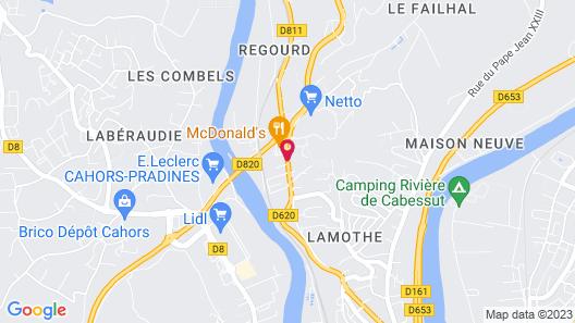 Deltour Hôtel Cahors Map