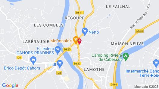 ibis Cahors Map