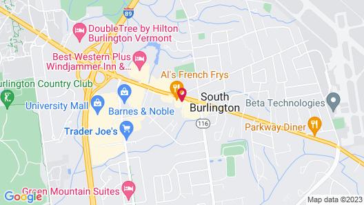 La Quinta Inn & Suites by Wyndham South Burlington Map