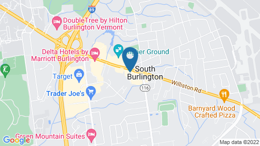 La Quinta Inn & Suites by Wyndham South Burlington Map