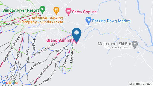 Grand Summit Hotel Map