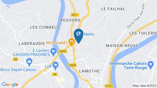 Campanile Cahors Map