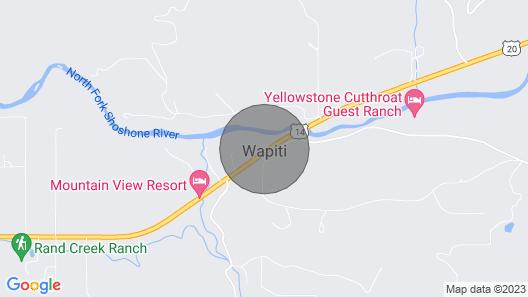The Historic Wapiti Lodge Map