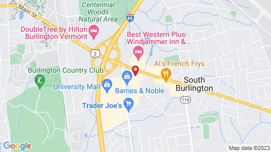 Delta Hotels by Marriott Burlington Map