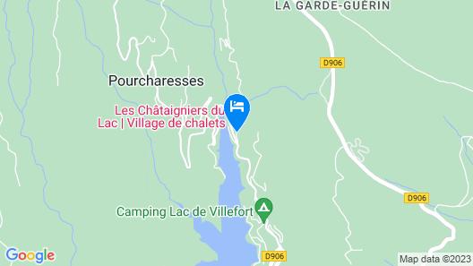 Village Vacances les Chataigniers du Lac  Map