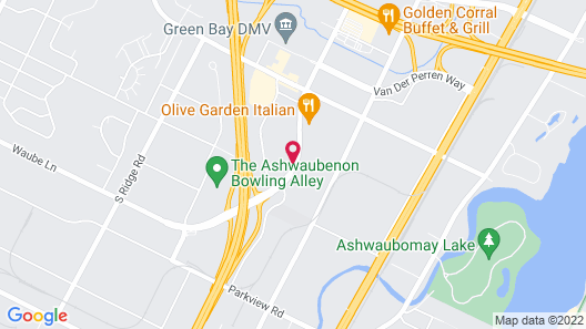 Fairfield Inn by Marriott Green Bay Map