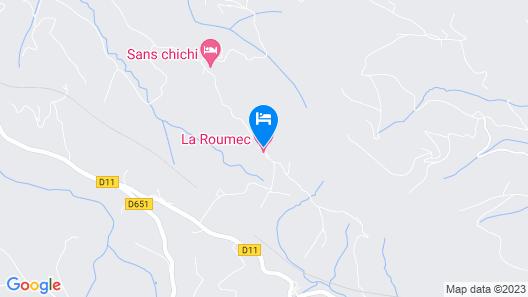 La Roumec Map