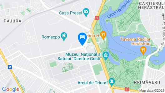 Pullman Bucharest Map