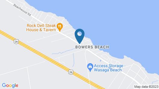 Collingwood Motel Map