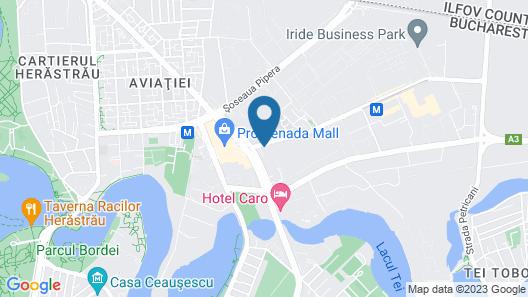 Courtyard by Marriott Bucharest Floreasca Map